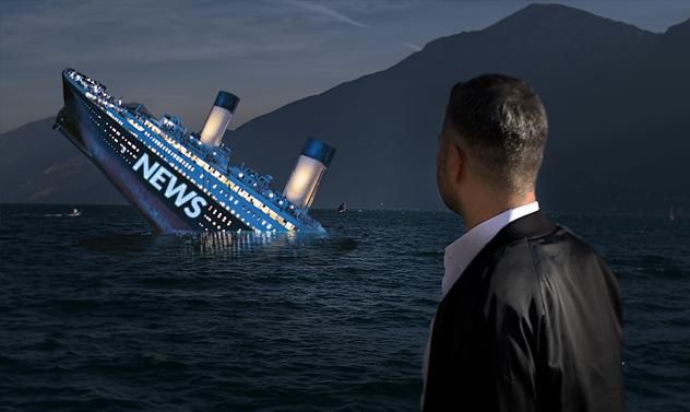 Žiniasklaidos Titanikas